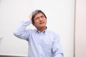 頭頂部の痛み